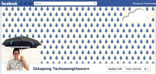 nice eg of a facebook timeline photo