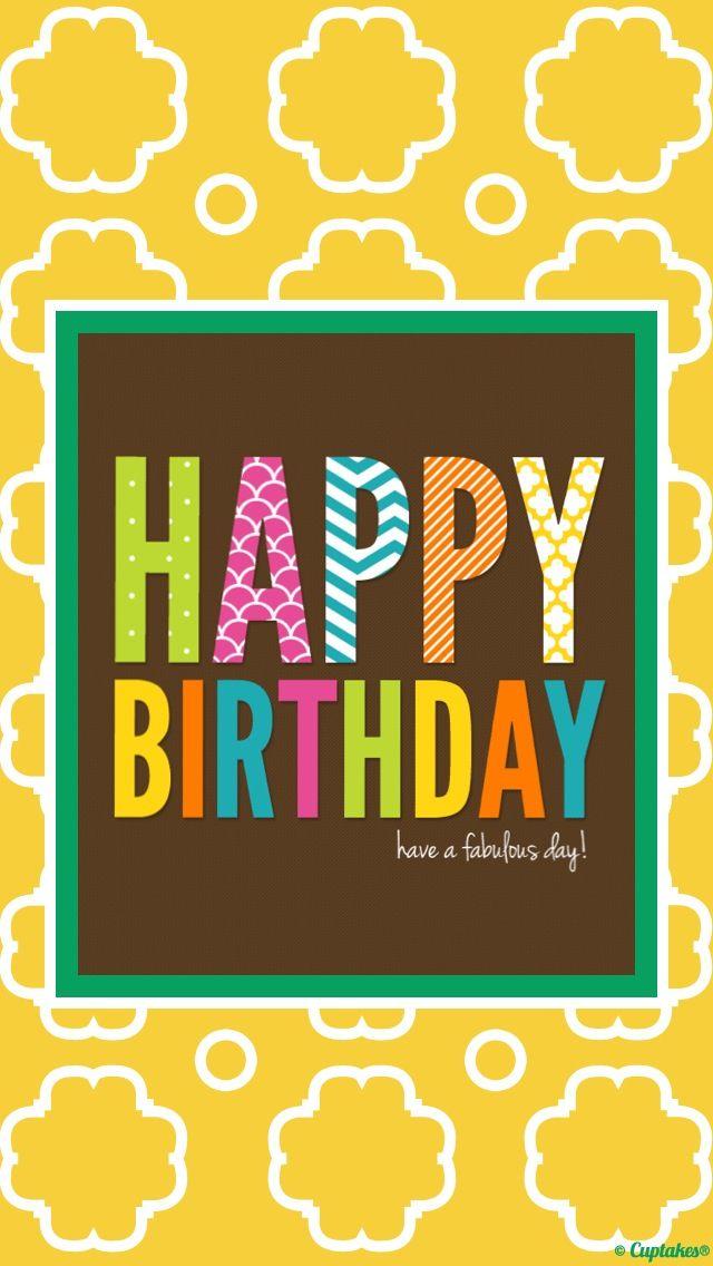 iPhone wallpaper, Happy Birthday!  IPHONE WALLPAPER  Pinterest  Birthdays, Happy and Happy