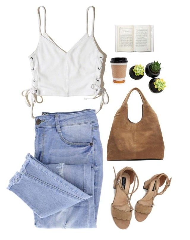 """""""Untitled #2896"""" by wtf-towear ❤ liked on Polyvore featuring Essie, Hollister Co. and Banana Republic"""
