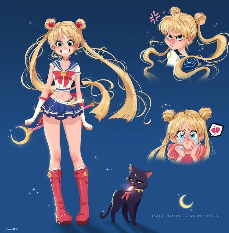 Character Design Challenge Sailor Moon : Best images about drawing styles colour on pinterest