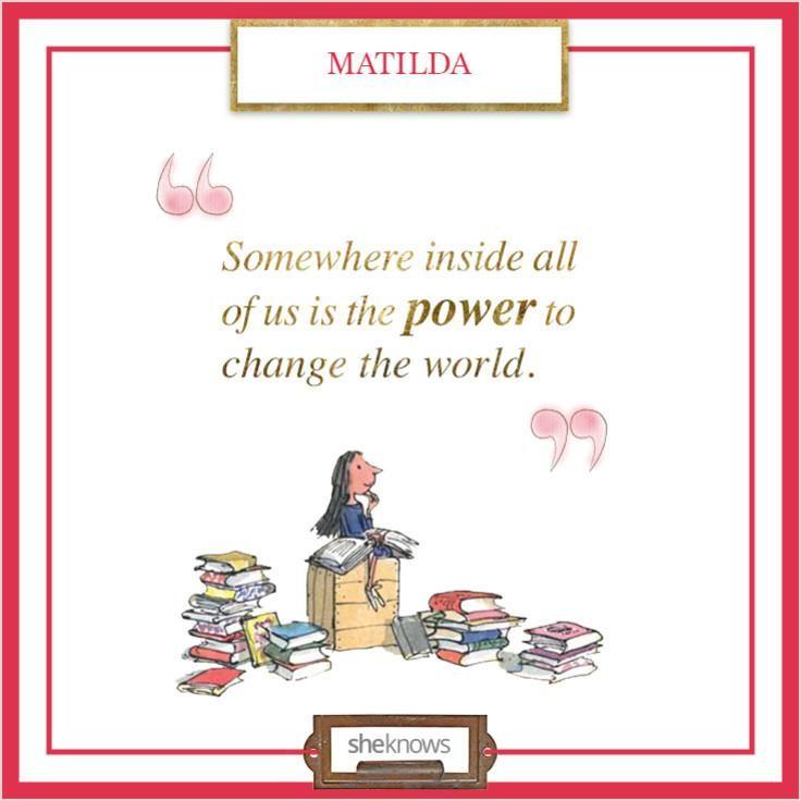 Love this children's literature quote!