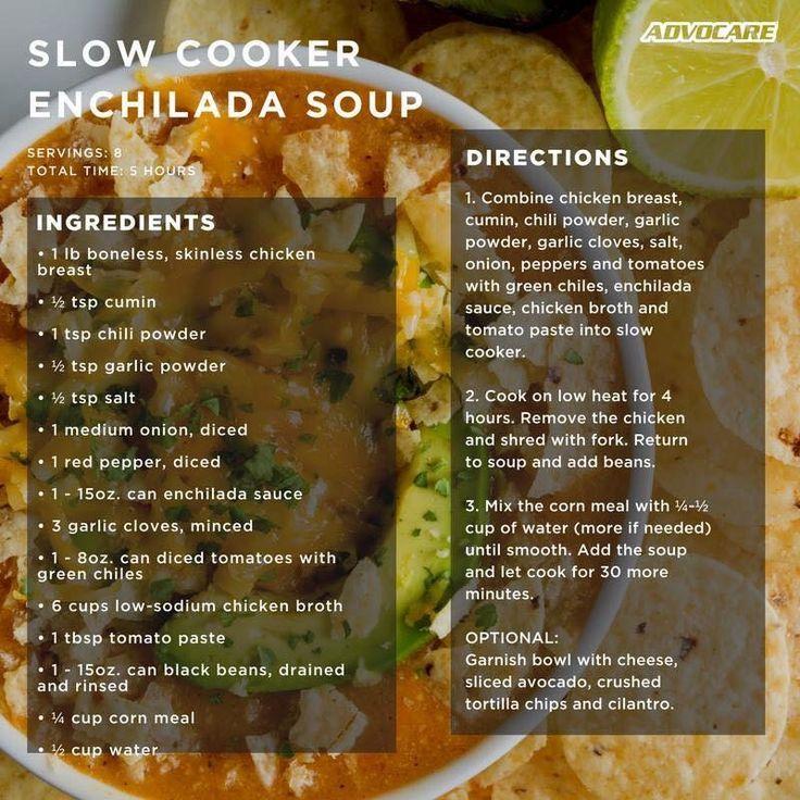 AdvoCare Skinny Enchilada Soup