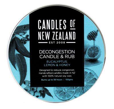 Decongestant Eucalyptus Candle and Rub | Shop New Zealand NZ$ 25.90