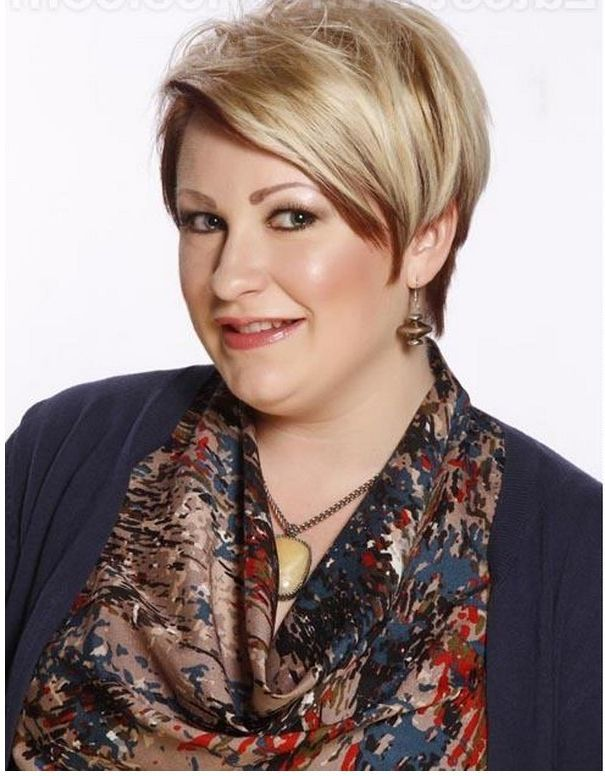 Plus  Size  Short  Hairstyles  for Women Over 40 Bing Images