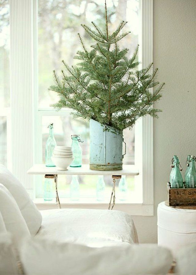 Un petit sapin de no l aux inspirations champ tres christmas decoration de - Sapin de noel pinterest ...