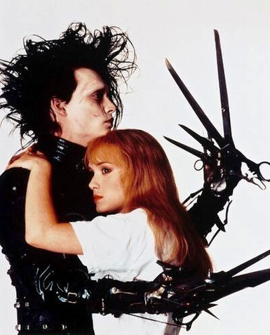 Edward Scissorhands. This movie is heart-squeezing!