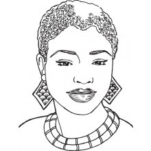 9 best african american stamps images on pinterest digi for African american bible coloring pages