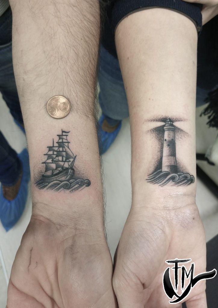 ffb00e717 Grafica francesco nave lighthouse – Tattoo Show La Spezia   Tattoos ...