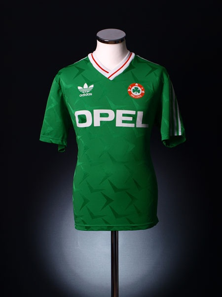 1990 92 Ireland Home Shirt Xl La Pelota Pichanga