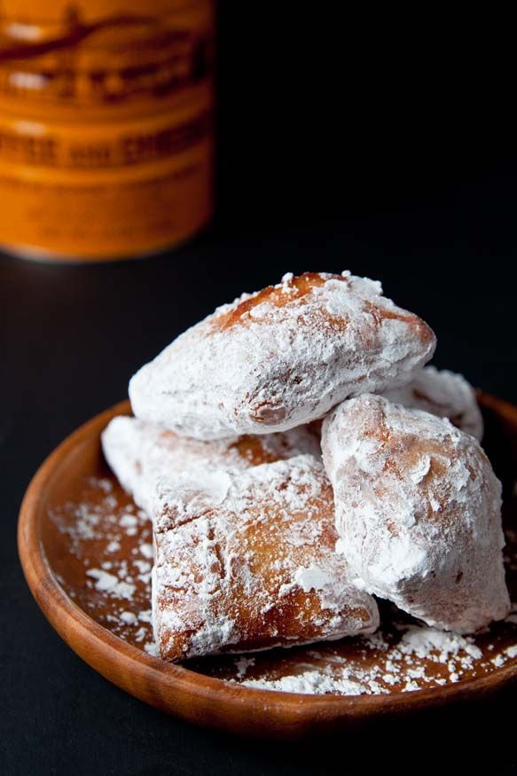 A SMALL BATCH of beignets. These taste just like the ones in New Orleans!