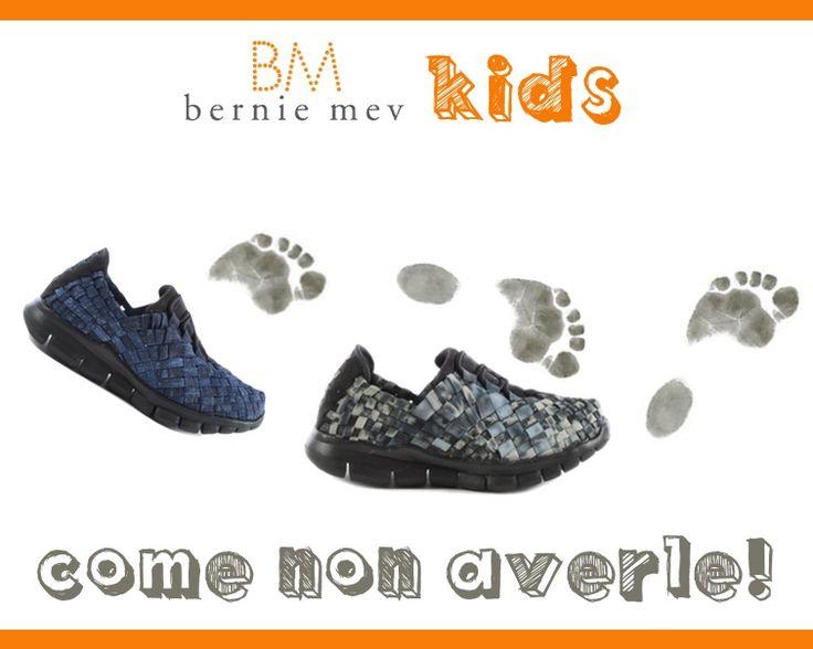 #Sneakers In tessuto elastico per #bambino e #bambina Bernie Mev: un prodotto #garantito per i piedini più preziosi! http://bit.ly/1Knigrp #scarpe #kids #shoes #qualità #risparmio