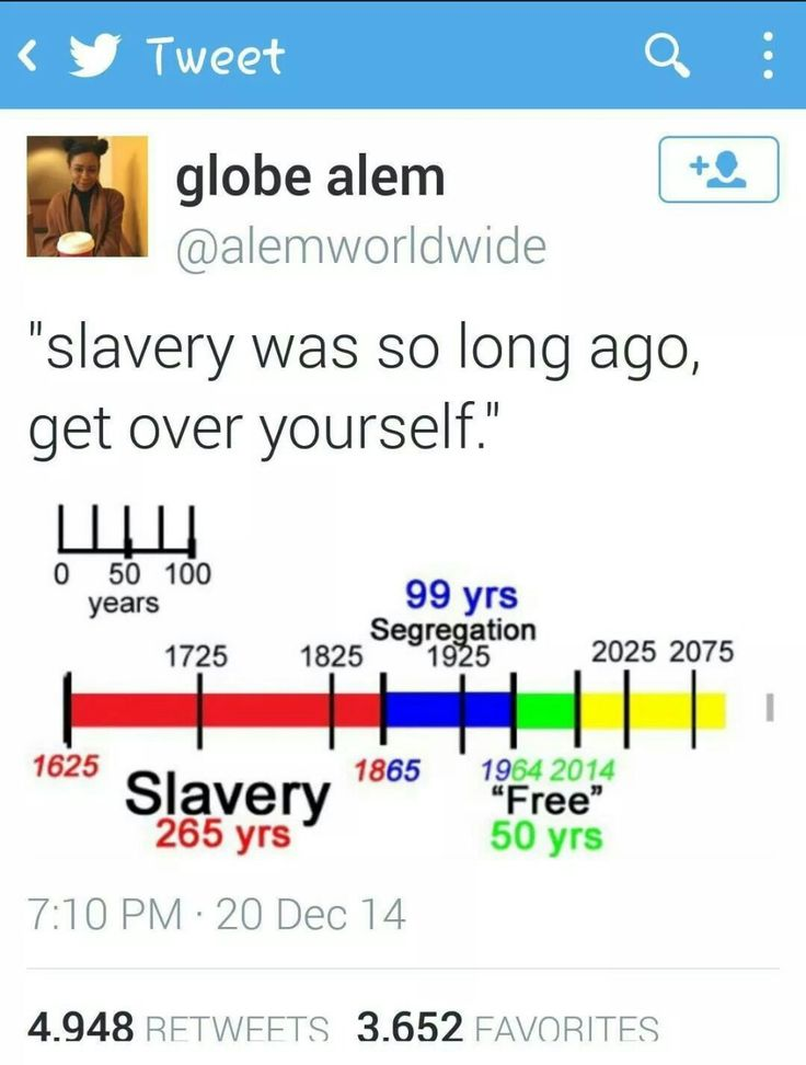 "And in those ""free"" years, we've had redlining and sub prime mortgages and mass incarceration. So...no."