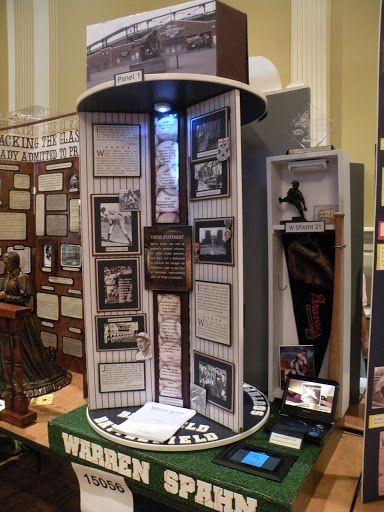 History Fair (2009) baseball board