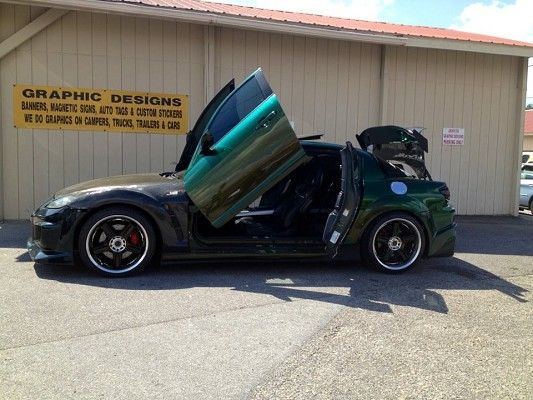 custom 2004 mazda rx8. 2004 mazda rx8 with a custom ombre paint job dream car pinterest cars and r