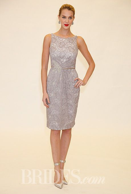 Brides.com: Truly Zac Posen - Spring 2014. Bridesmaid dress by Truly Zac Posen for David's Bridal