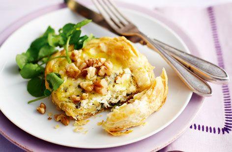 Stilton and Watercress Tartlets - Tesco Real Food - Tesco Real Food