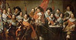 Officieren en vaandeldragers van de Oude Schutterij (1634), Stedelijk Museum Alkmaar