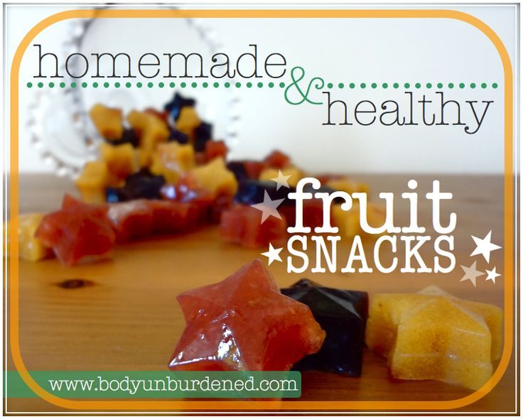 the fruit company are fruit snacks healthy