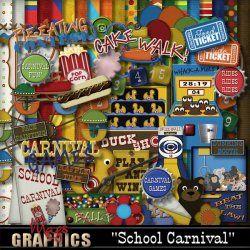 SCHOOL CARNIVAL Scrap Kit