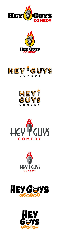 comedy club logo design
