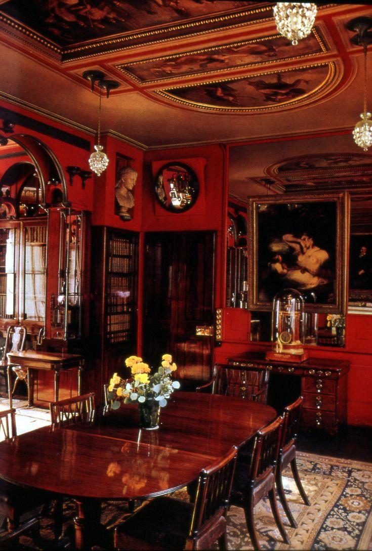 John Soane House Dining Room