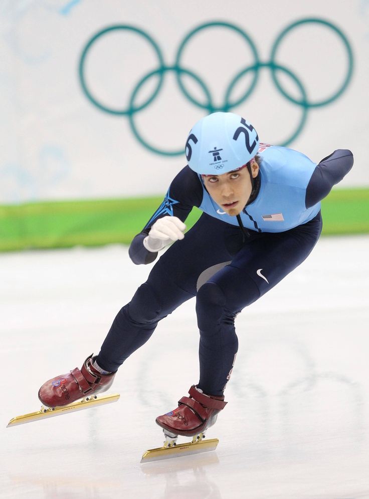 APOLLO OHNO - Can't wait until the Winter Olympics in Sochi, short track speed skating is one of my favorite events.