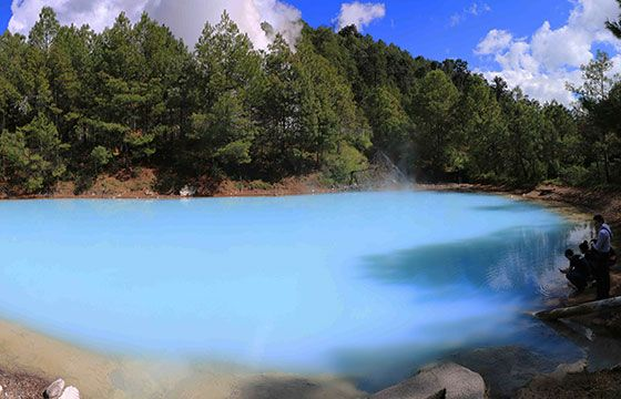 Laguna Larga, Los Azufres, Michoacán