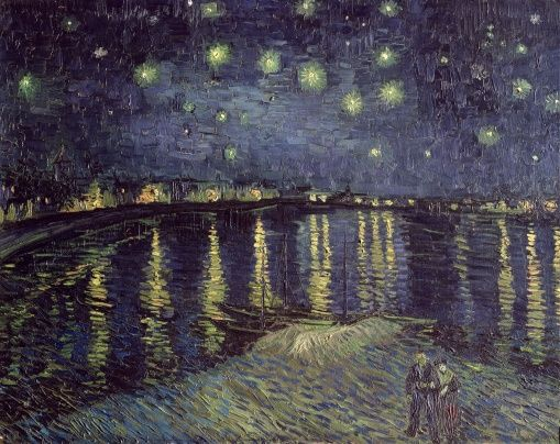 Gogh, Vincent van - Starry Night - photo-wallpaper