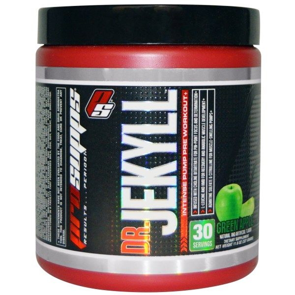 Sports Fitness Athletic Prosupps Dr Jekyll Intense Pump Pre Workout Gre Pump Pre Workout Preworkout Workout
