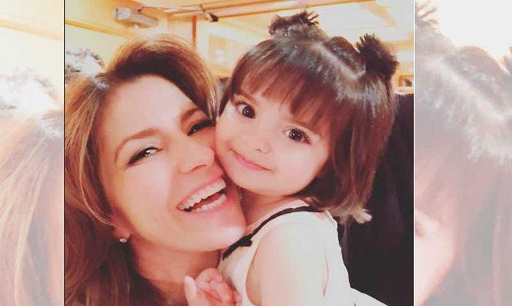 Alessandra Rosaldo sobre Aitana: 'Quiero que tenga una infancia absolutamente normal como la que tuve yo'