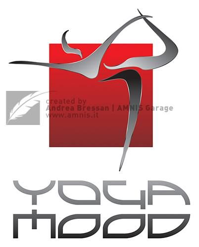 Yoga Mood logo #concept #graphicdesign by Andrea Bressan - Strasbourg, France, 2010