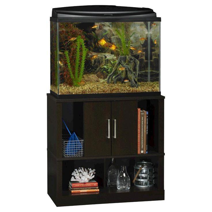 Laguna Tide 29-37 Gallon Aquarium Stand - Black Forest - Altra, Brown