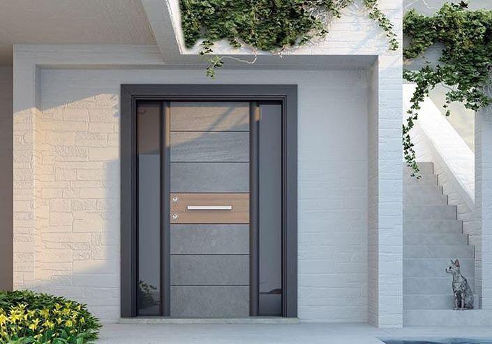 Sur Çelik Kapı dünyasında çeliğin doğal taşla buluştuğu STONEART'a hayran kalacaksınız  #surçelikkapı #sur #stoneart #lovedesign #design #çelikkapı