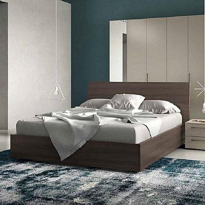 Contemporary, elegant 'Ugo' bed by Orme
