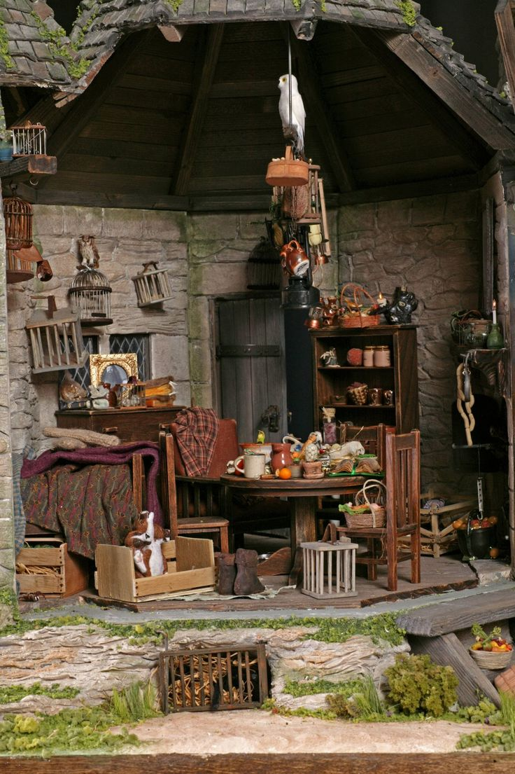 92 best images about little worlds on pinterest What house was hagrid in