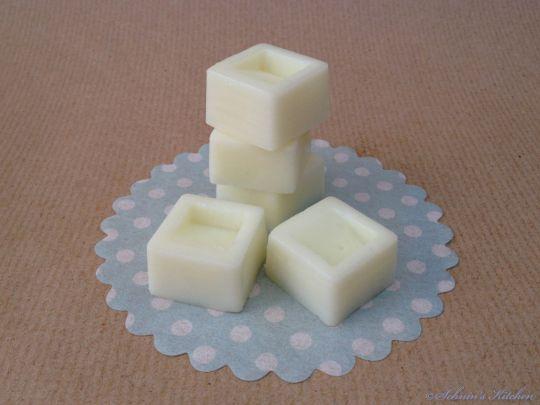 {DIY Kosmetik} Body Butter Lotion Bars alias Bodylotion am Stück