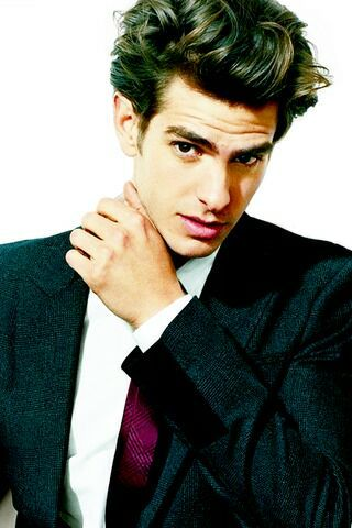 Andrew Garfield.  Yea, I watched Spiderman again last night. Yea, I hate myself today because of how beautiful he is.