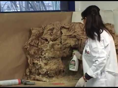 Como hacer una cueva o montaña con papel - HOW TO MAKE A CAVE OR MOUNTAIN WITH PAPER - YouTube