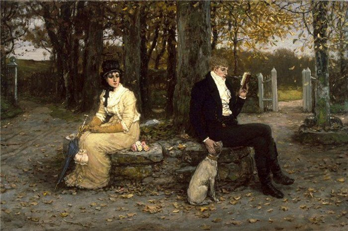 George Henry Boughton, fine della luna di miele