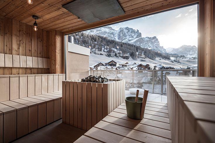 noa* mimics the snow-capped mountain line with hotel tofano