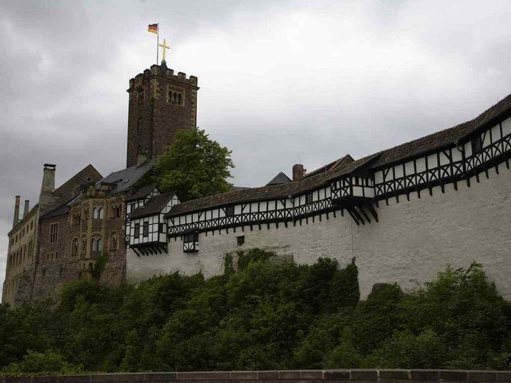 Замок Вартбург настоящий символ Германии. Обсуждение на LiveInternet - Российский Сервис Онлайн-Дневников