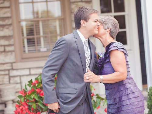 Here's an etiquette survival guide for the groom's mom.