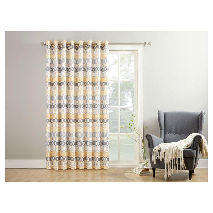 Best 25 Door Panel Curtains Ideas On Pinterest Sliding