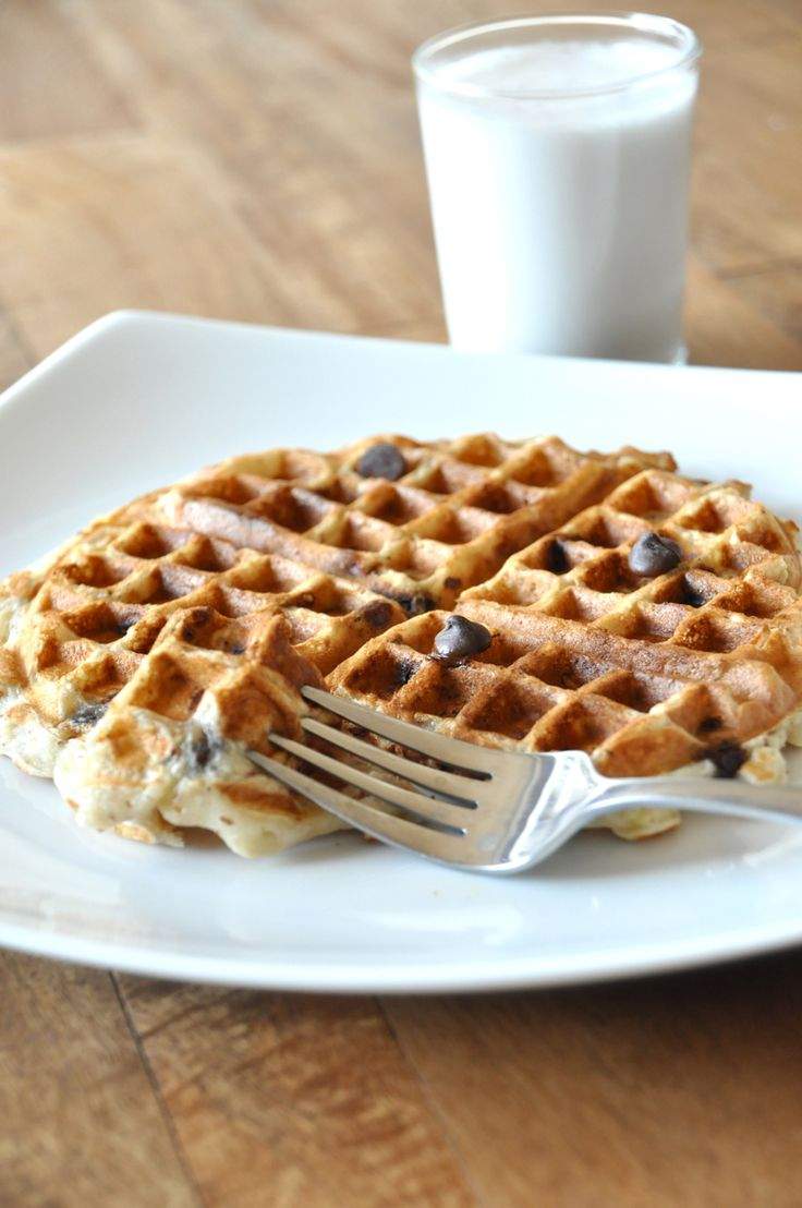 banana bread waffles...no sugar, butter, or oil. just banana! Just make sure to grease you waffle iron, they stick.