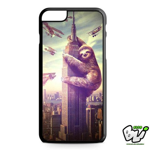 Sloth Zilla iPhone 6 Plus Case | iPhone 6S Plus Case