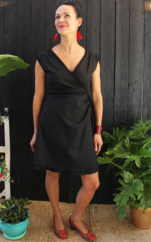 Le chouchou de ma boutique https://www.etsy.com/fr/listing/292990533/robe-femme-robe-lin-extensible-robe