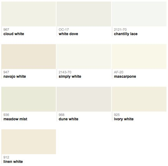 Walls bm chantilly lace benjamin moore paint pinterest - Benjamin Moore Best Selling Whites Pattern Color