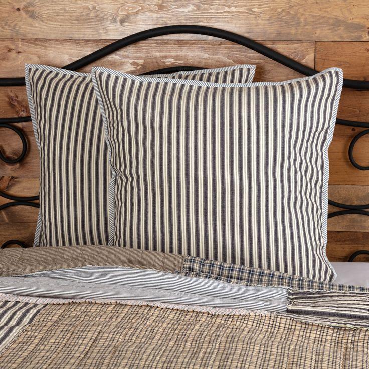Ashmont fabric euro sham 26x26 farmhouse