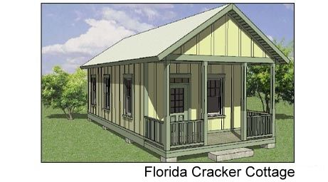 17 best images about florida cracker style vintage for Small cracker house plans