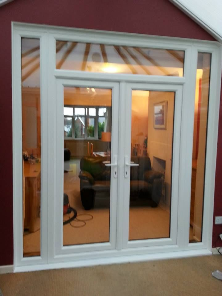 Making your #house look like a #home with these white #uPVC #French #Doors